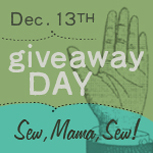 Sew, Mama, Sew Giveaway Day 2010!